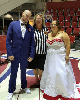 Montreal Canadiens Habs Themed Wedding